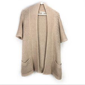 Banana Republic Sweaters - Banana Republic camel colored open cardigan knit